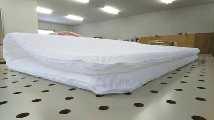 キャンピングカー2段ベッド用ブレスエアー入りマット