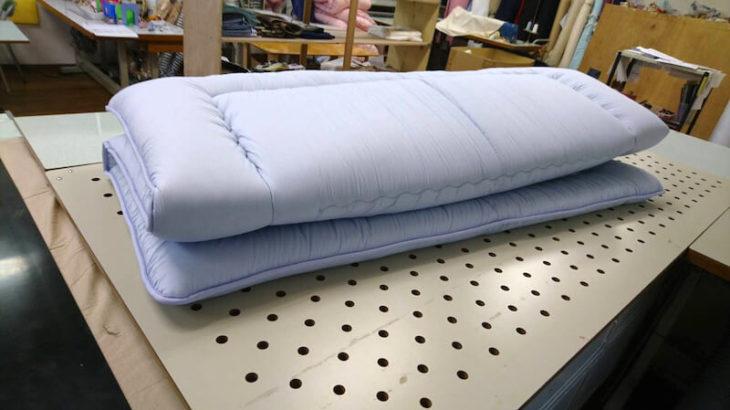 敷布団 175×200cm ブルー