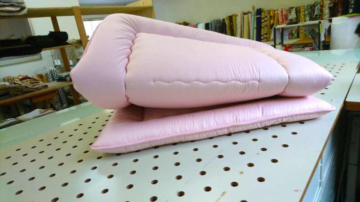 敷布団 90×170cm ピンク